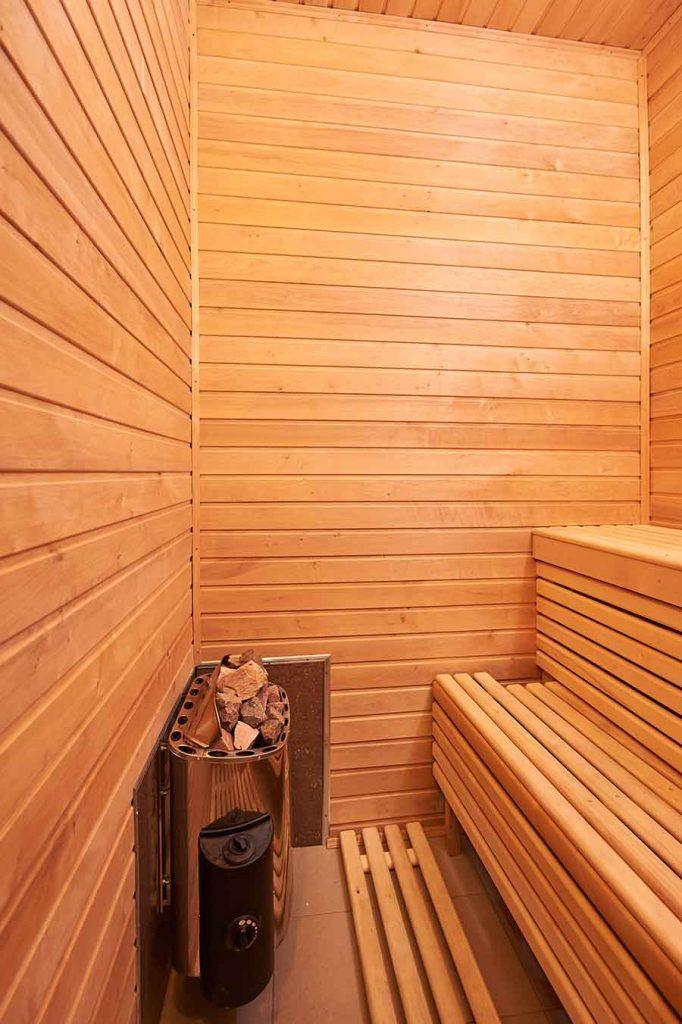 home sauna room